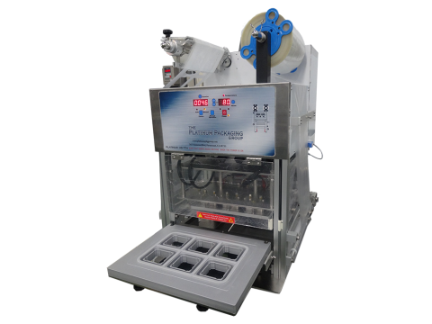 Semi-automatic Lidding Machine - HSTT89MM